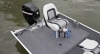 Aft pedestal fishing seat