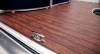 Optional faux teak wood decking