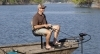 Pedestal fishing seat