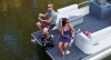 Optional bow fishing seats