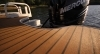 Optional faux teak rear decking