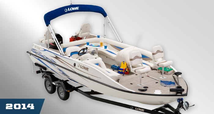 Lowe boats sd224 sport deck the aluminum deck boat for Fishing deck boats