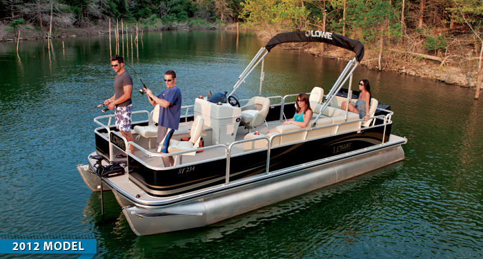 Best pontoon boat manufacturers for Fishing boat brands