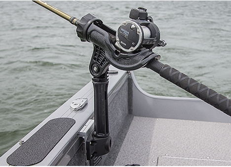 Rod Holder with Side Mount & Extension