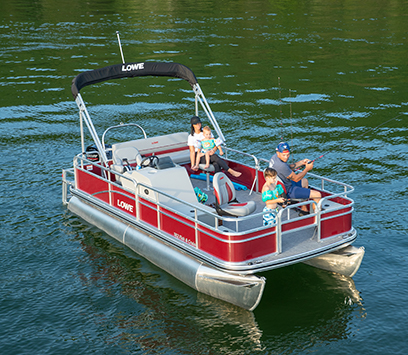 2019 Lowe Pontoon Boats - Sport, Fishing, Party and Luxury