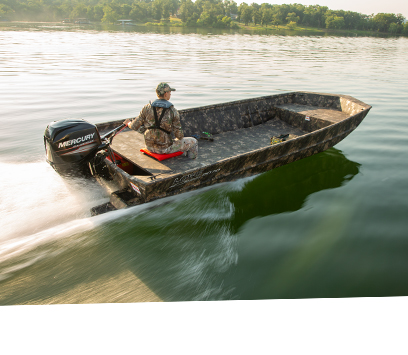 Lowe 2019 Roughneck Series All Welded Aluminum Jon Boats