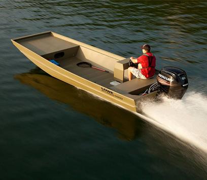 Roughneck Series Aluminum Jon Boats | Lowe Boats