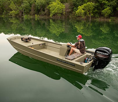 Roughneck Series Aluminum Jon Boats | Lowe Boats