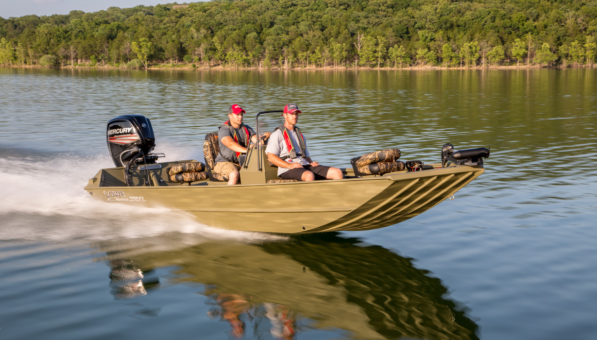 2018 roughneck 1860 tunnel jet fishing and hunting boats for Fishing jet boat