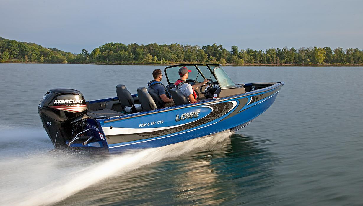 new 2018 fs 1710 aluminum fish ski boat lowe boats