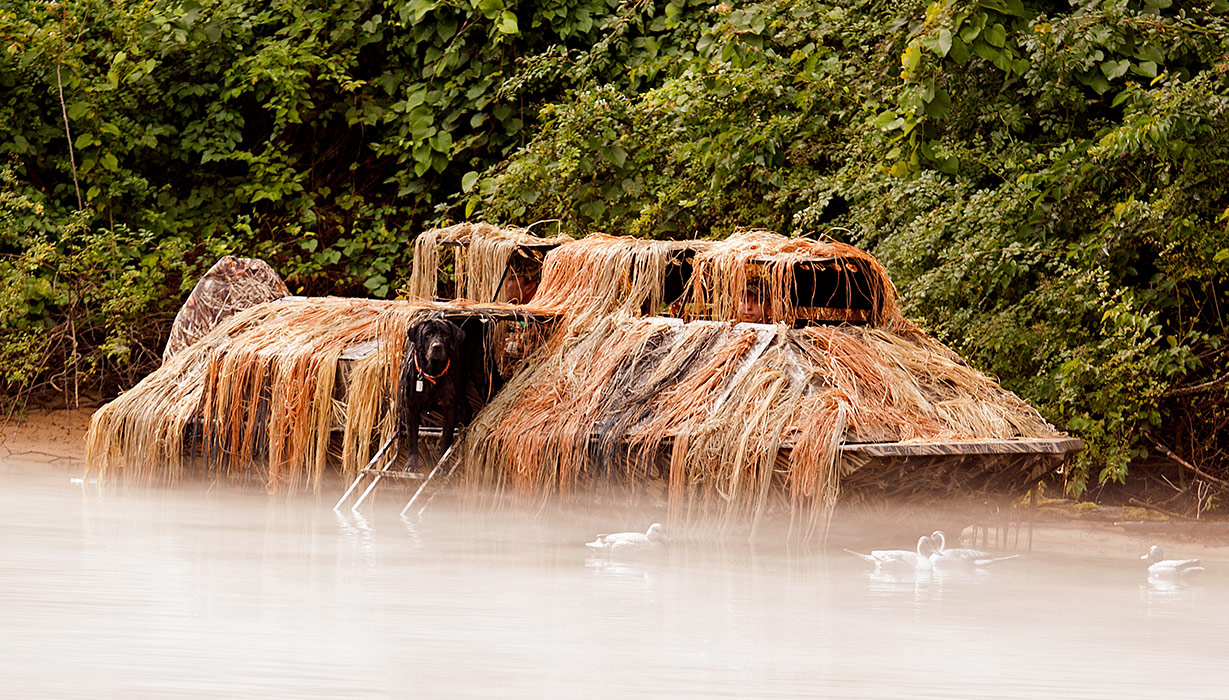 RX 1860 Waterfowl Tiller - Hunting In Water