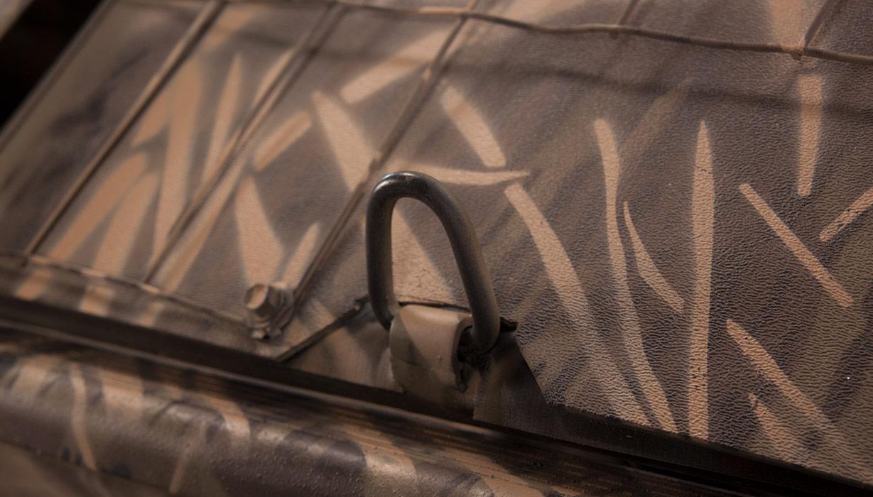 RX 2070 Waterfowl Tiller BUST'EM Blind Cover