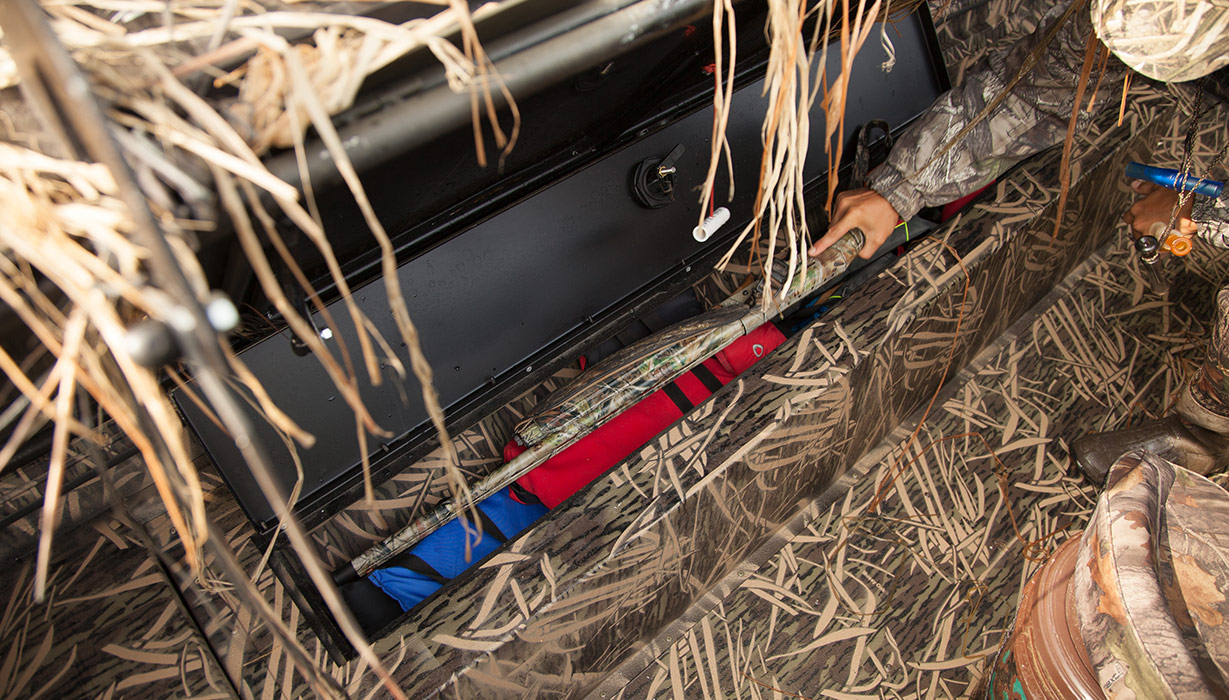 RX 2070 Waterfowl Tiller Storage