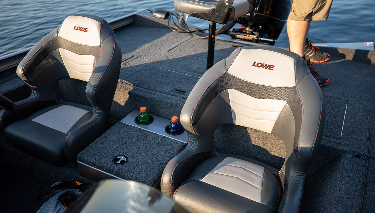 Lowe Stinger 198 Dual Console - 2019 Tournament Ready Bass Boat