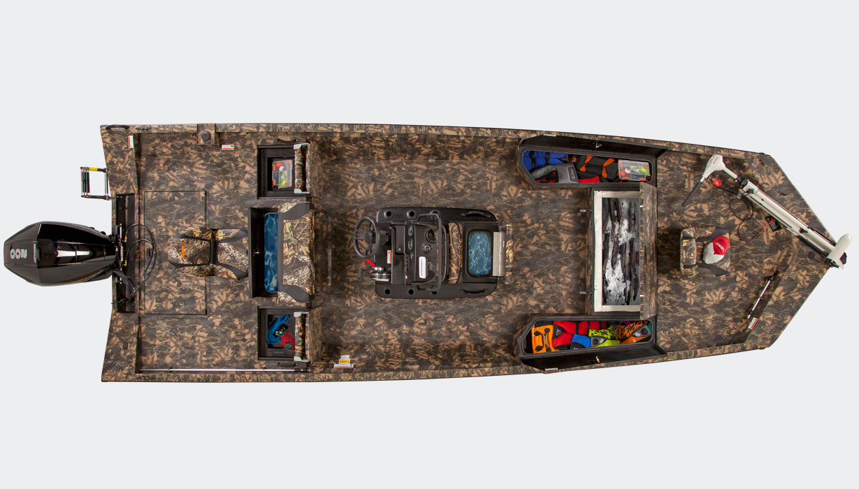 2019 Bay 22 Camo - Overhead Open