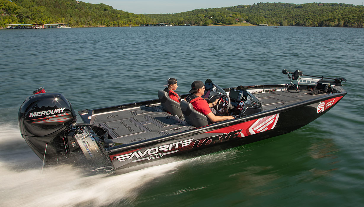 Lowe Favorite 198 Special Edition - Tournament Bass Boat