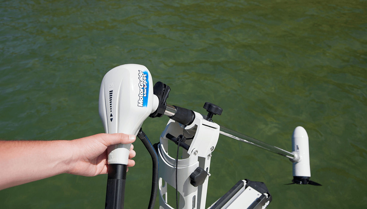 Hi 2015 Lowe 20 Bay   Feature   Trolling Motor