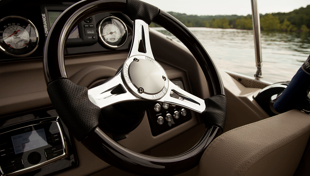 Hi Infinity 230 Wt   Steering Console