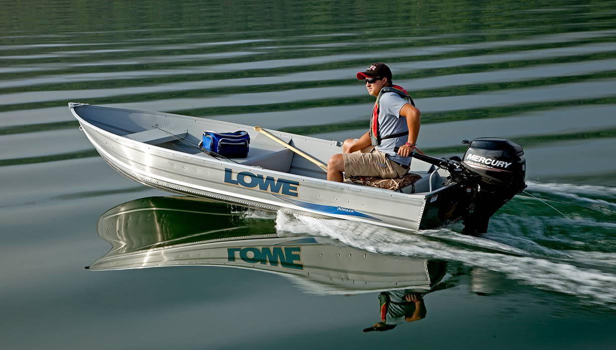 2018 Aluminum Deep V Utility V1258 Boats | Lowe Boats