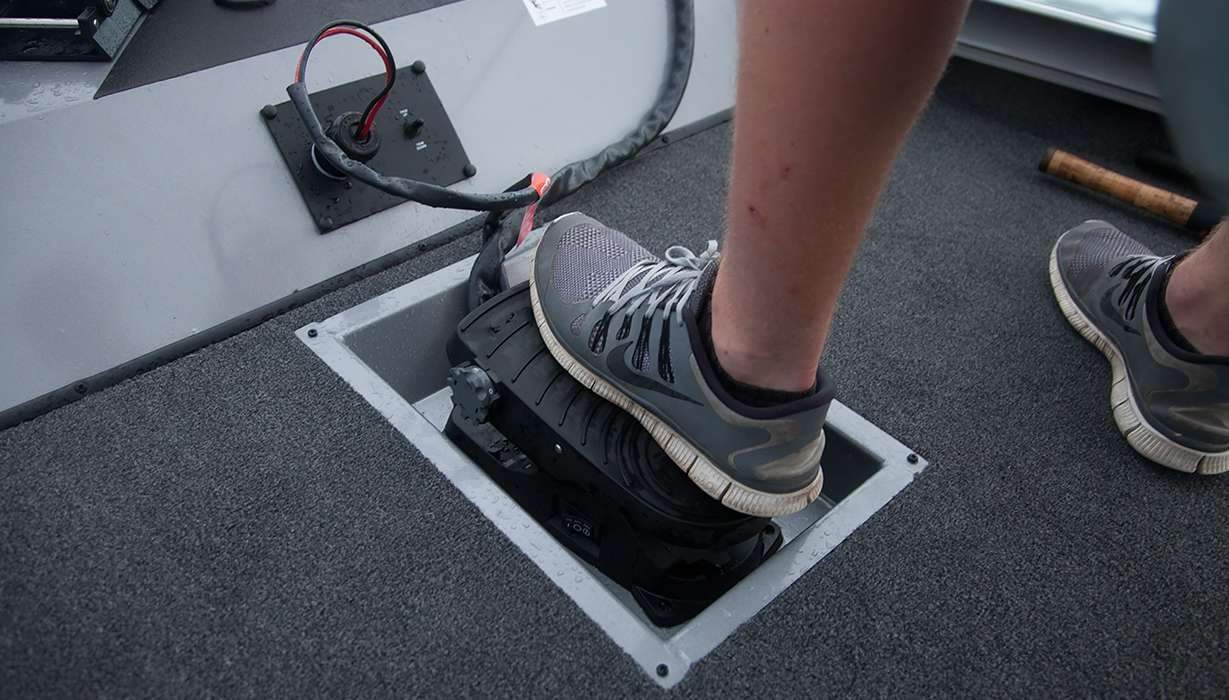 Hi St 195   Trolling Motor Foot Pedal