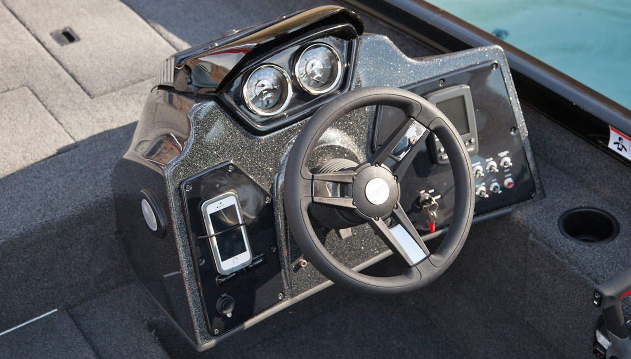 Fiberglass console
