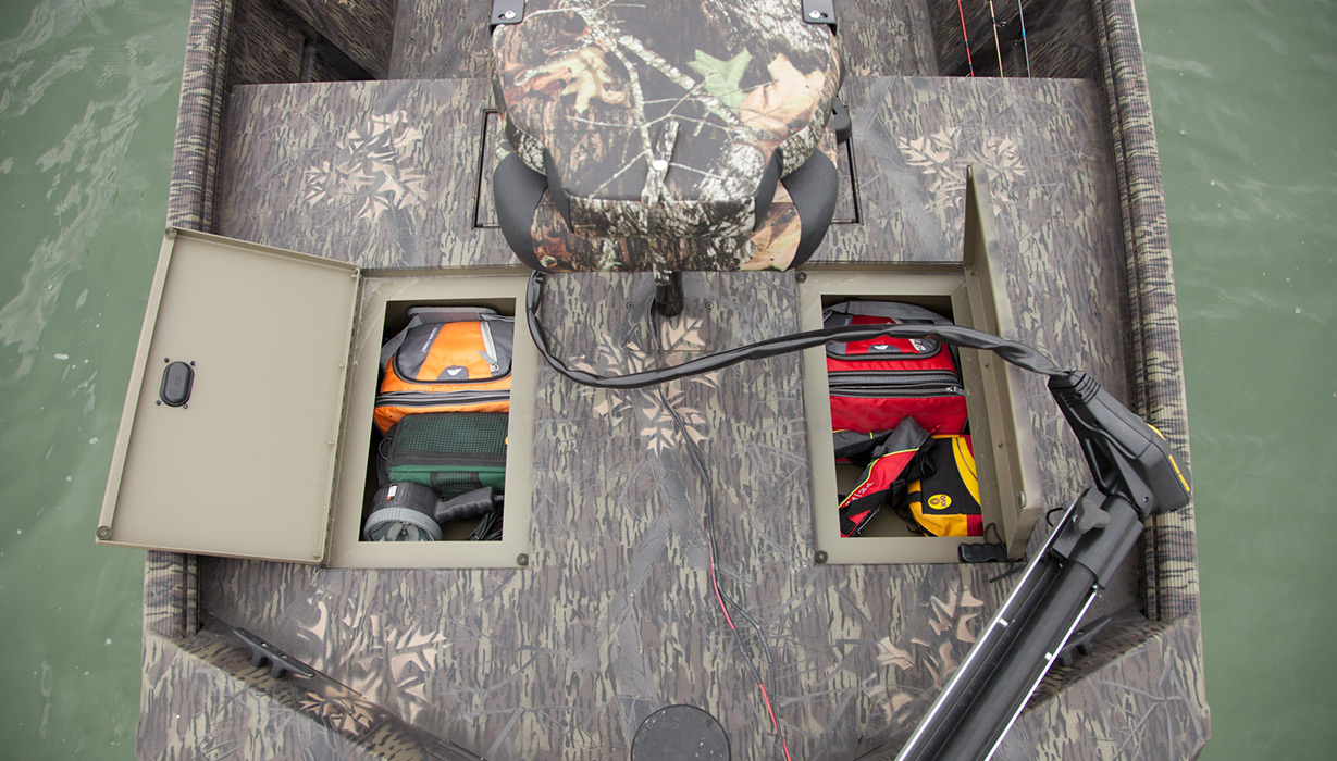 Bow Storage Compartments