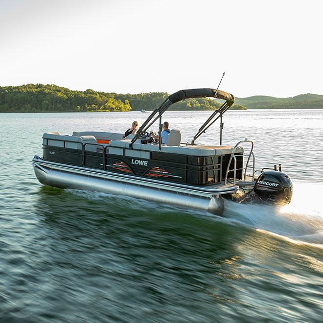 Lowe Ss230 Sport Pontoon Boat 23 Foot Super Sport Pontoon