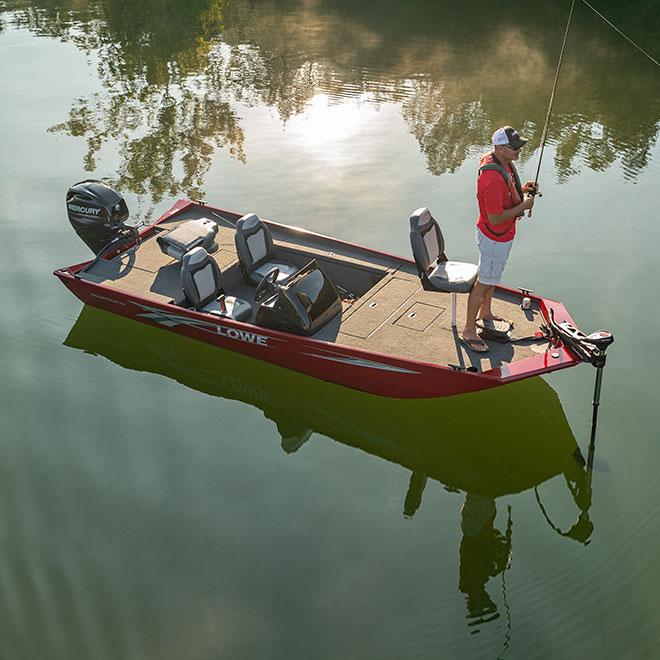 Mod V Boat B Fishing Lowe Boats