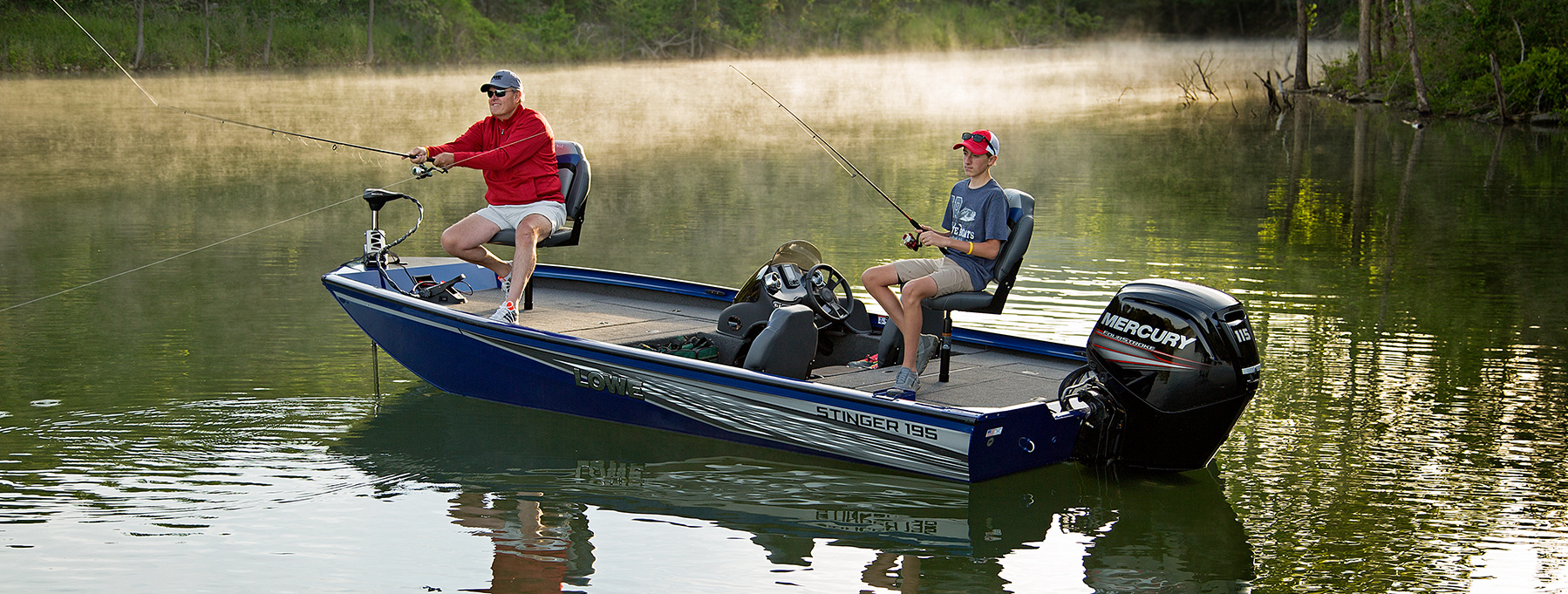 2017 stinger st195 aluminum bass crappie fishing boat for Crappie fishing boats