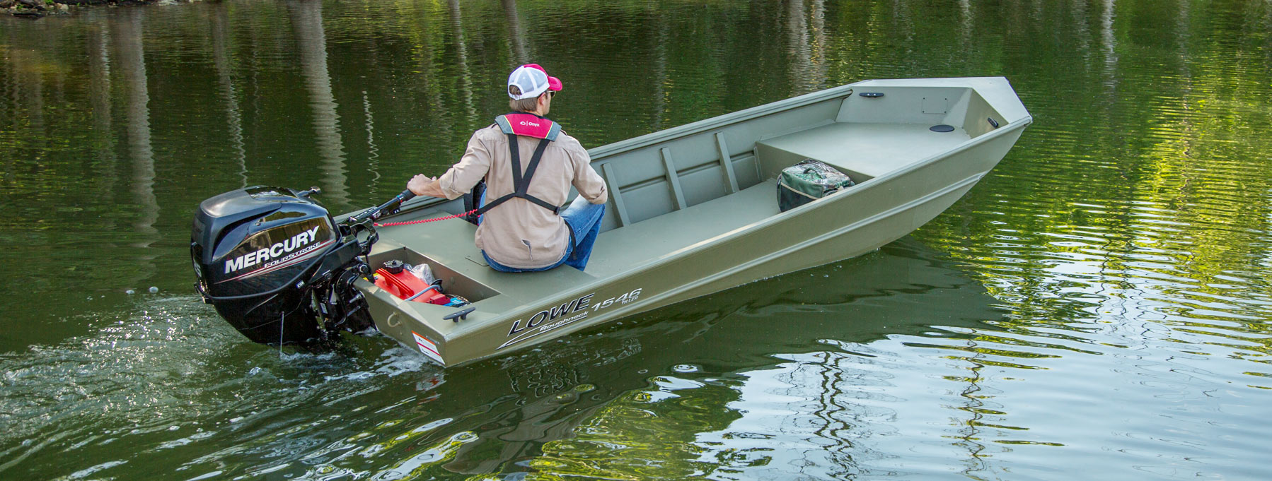 2018 Roughneck 1546 Jon Duck Hunting and Fishing Boat | Lowe Boats