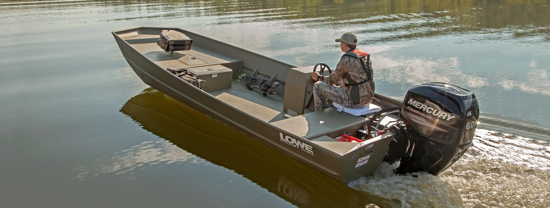 2018 1852MT AURA Jon Fishing, Hunting and Duck Hunting Boats | Lowe Boats