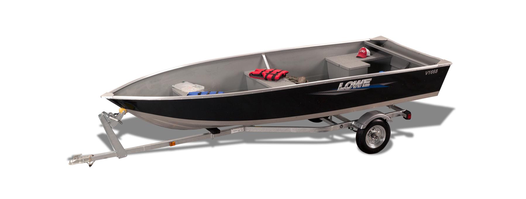 2019 Aluminum Deep V Utility V1668 Boats | Lowe Boats