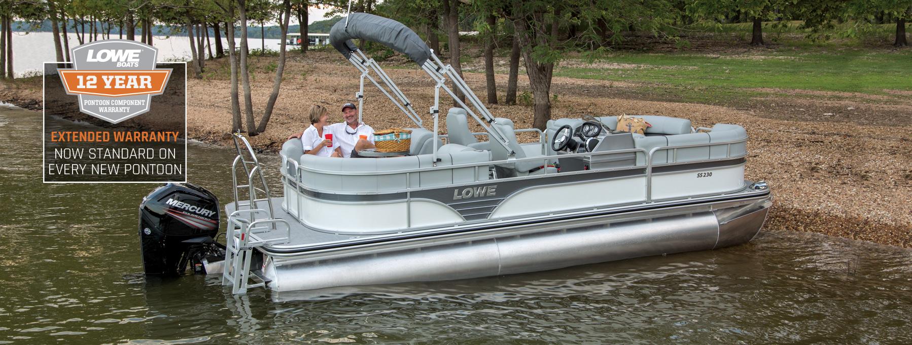 2019 SS230 Sport Pontoon Boat   Lowe Pontoons
