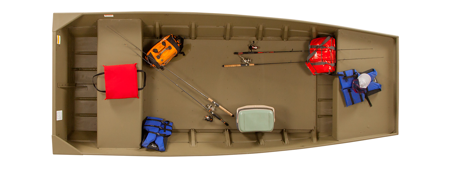 2019 L1448T Riveted Fishing and Hunting Boats   Lowe Boats