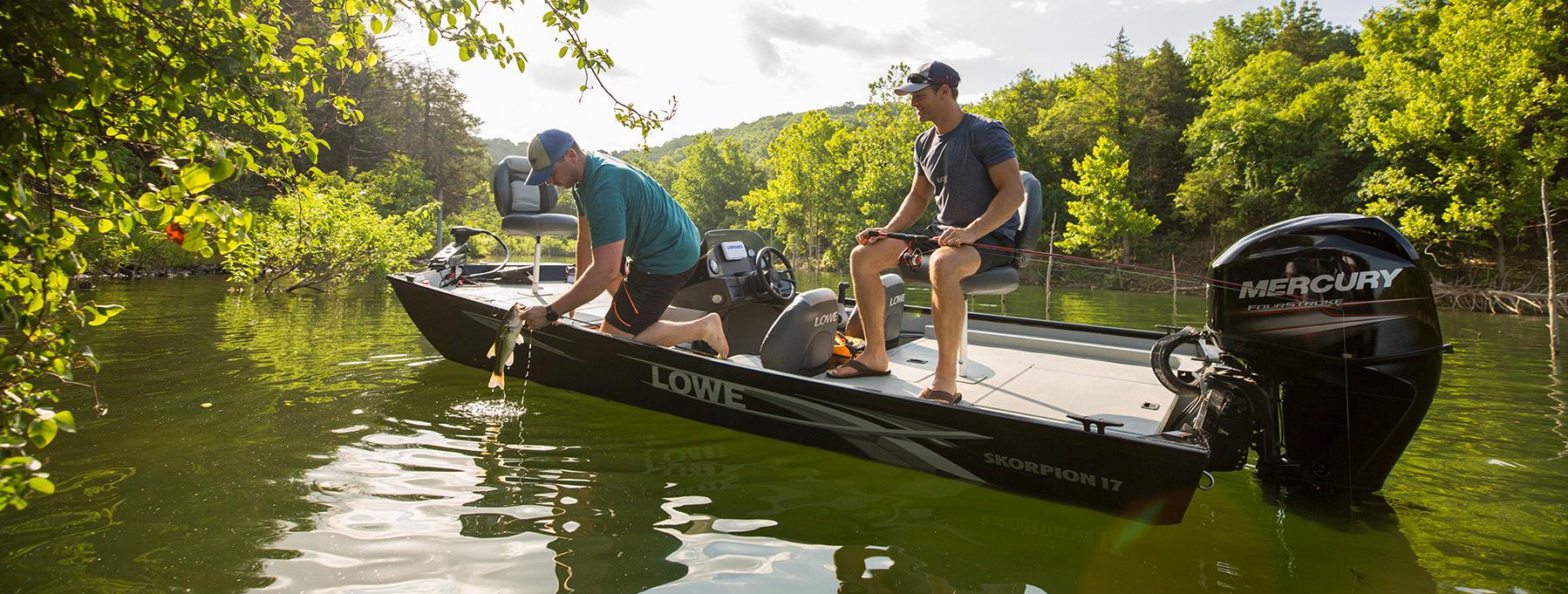 2020 Skorpion 17 Mod-V Boat, Bass Fishing Boat | Lowe Boats