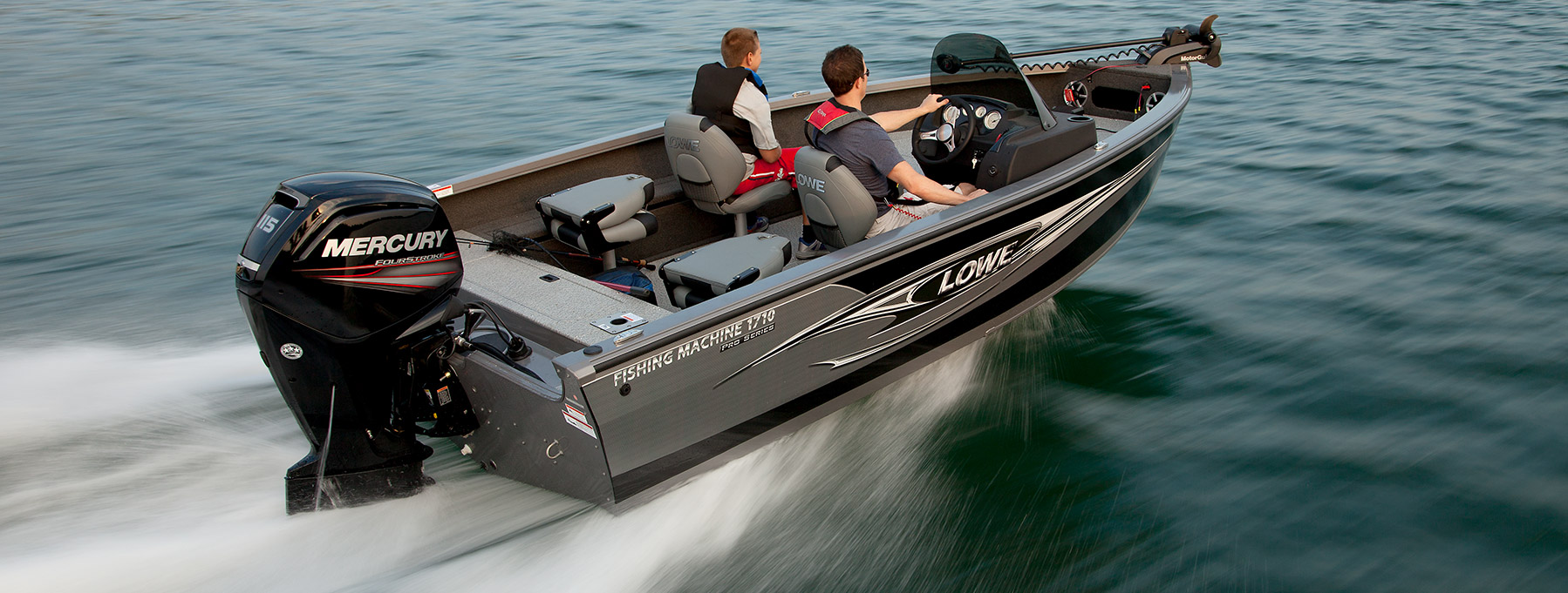 Image gallery lowe boats for Aluminum fish and ski boats
