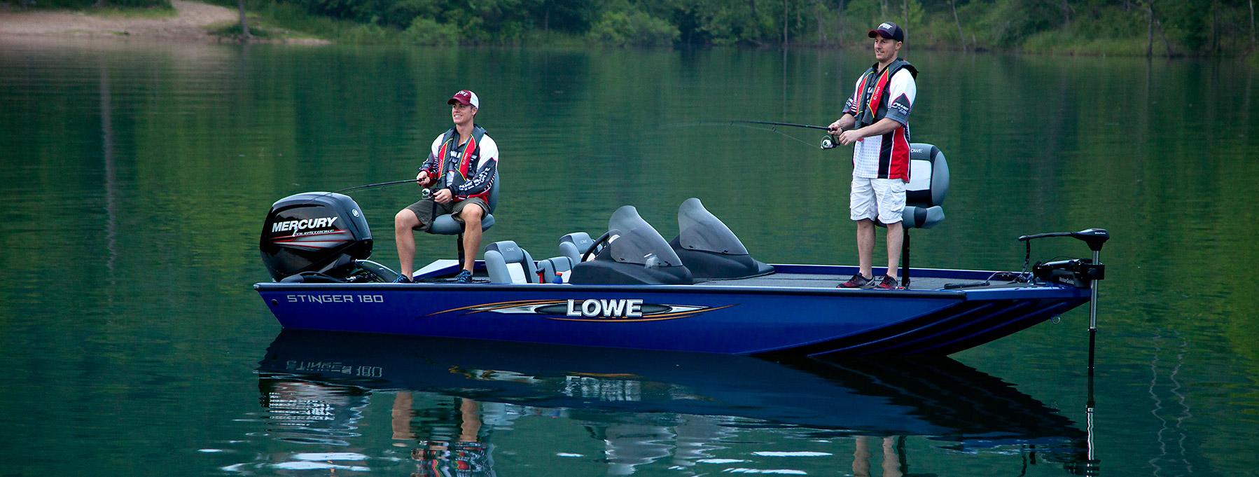 2016 Stinger ST 180 Bass & Crappie Aluminum Fishing Boat | Lowe Boats