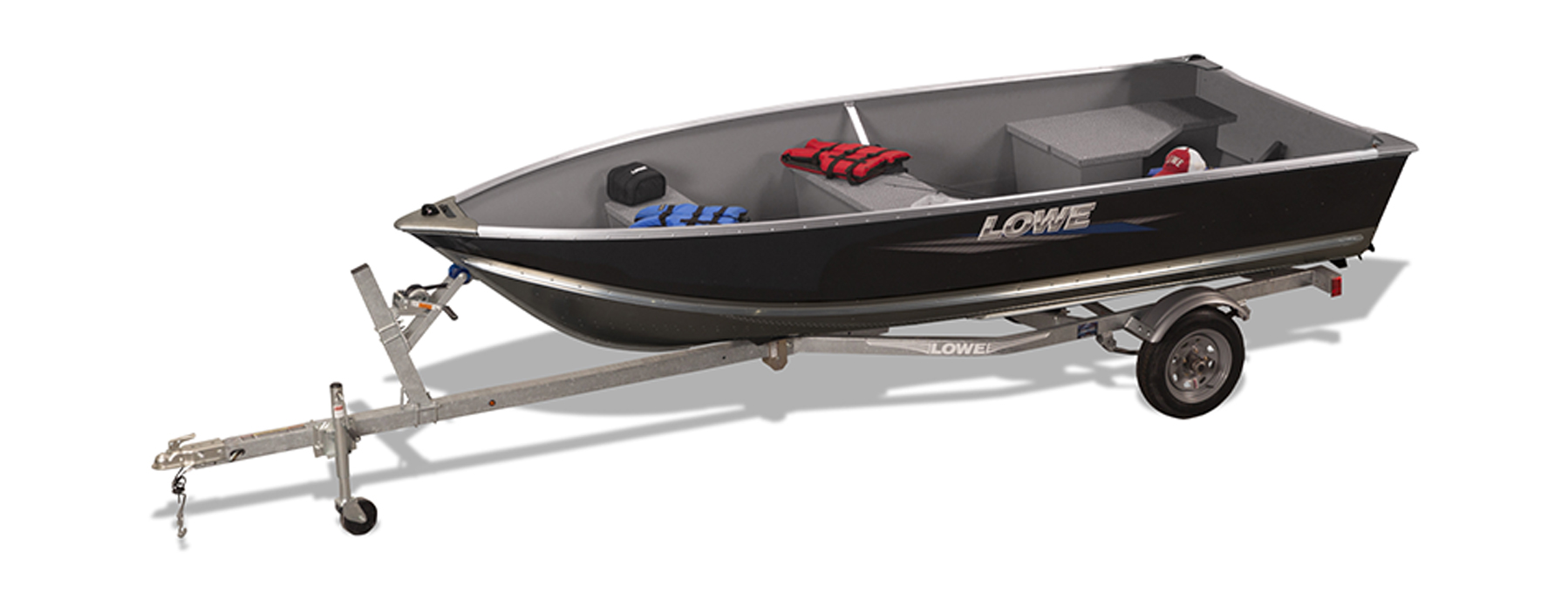Lowe boats 1257 utility v boat deep v boat and small for A small fishing boat