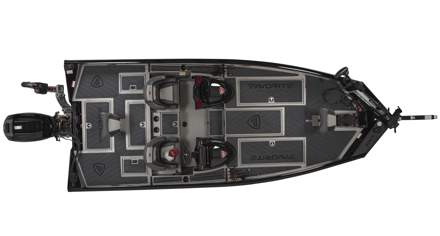 Lowe Favorite 198 Special Edition Tournament Bass Boat