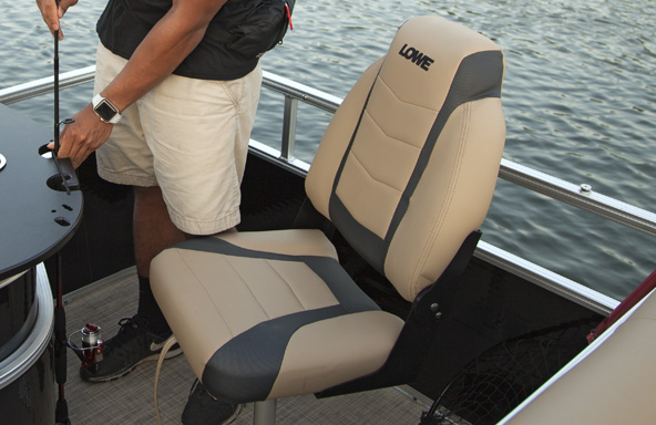 High-Back Pedestal Fishing Seats