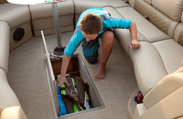 Oversized Below Deck Storage