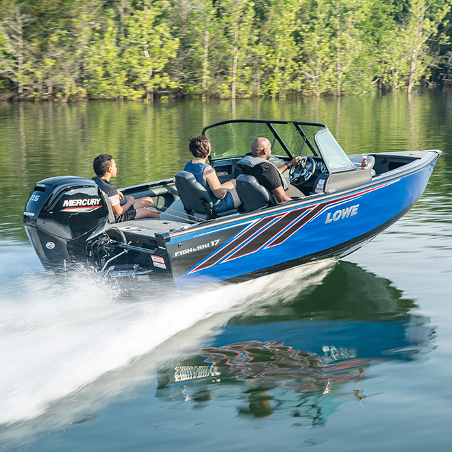 Best Fish And Ski Boats >> 2020 Fish And Ski Series Lowe Boats Deep V Aluminum Boats