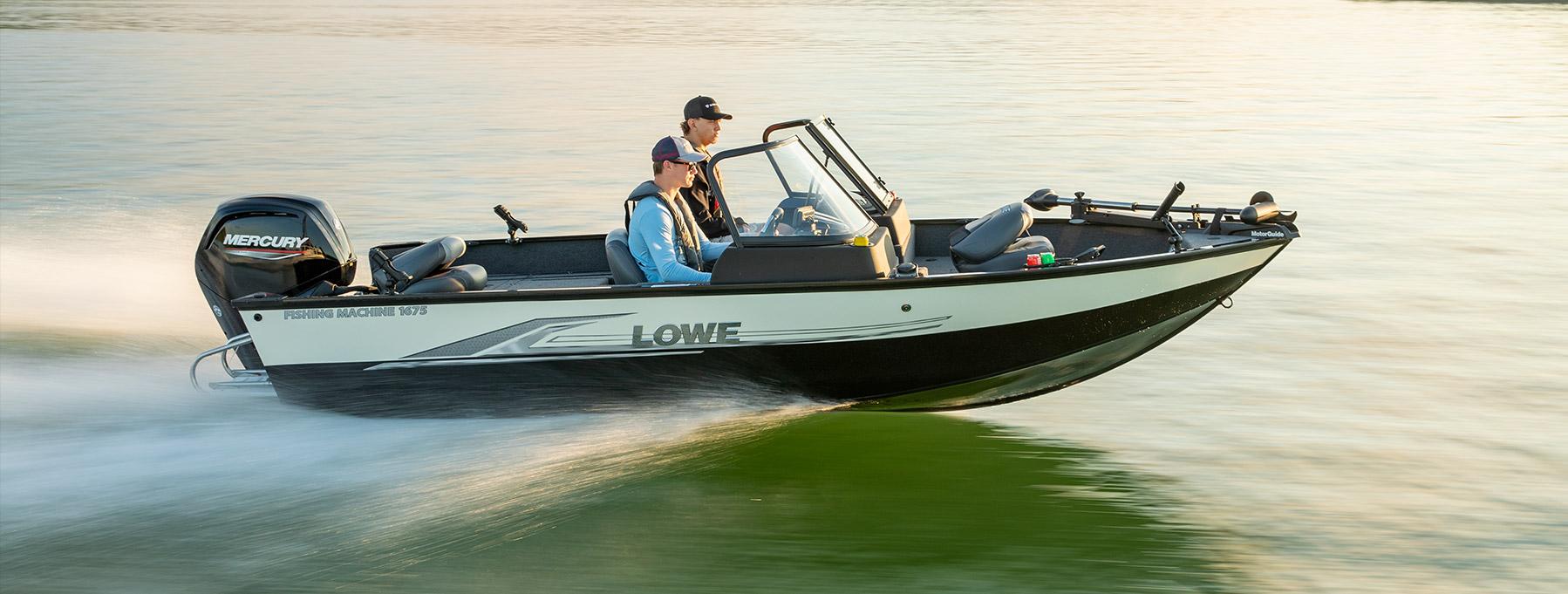 Lowe - 2019 Fishing Machine Series Deep - V Aluminum Boats