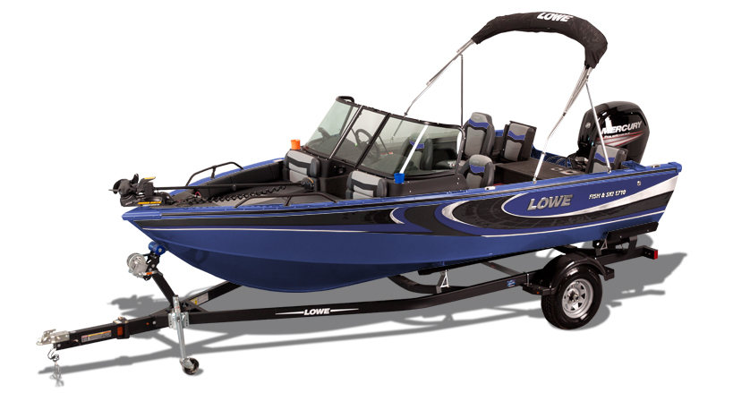 new 2017 fs 1710 aluminum fish ski boat lowe boats rh loweboats com Lowe Bay Boat Bimini Top Lowe Boats Electrical Problems