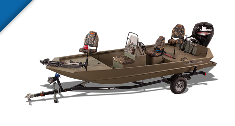 2017 Roughneck 1860 Tunnel Jet Fishing And Hunting Boats Lowe Boats