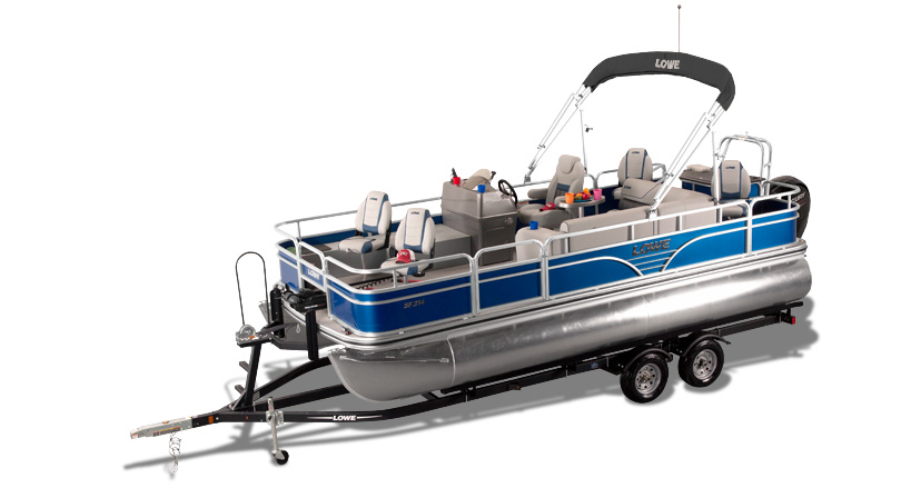 2019 sf214 fishing pontoon boat lowe boats rh loweboats com