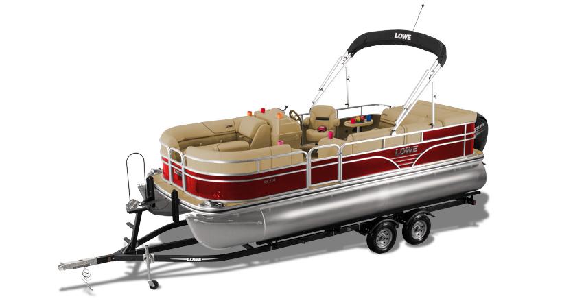 2019 SS210 Sport Pontoon Boat | Lowe Pontoons