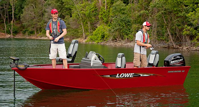 Lowe boat dealers michigan map